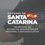 Retomada do concurso público de 600 vagas para Agente Penitenciário da SAP/SC